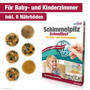 Schimmeltest zur Bestimmung der Schimmelpilzbelastung in Baby- und Kinderzimmer