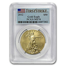 1 oz Gold American Eagle MS-70 PCGS (Random Year) - SKU #83480