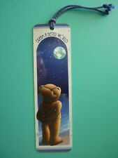 Vintage 1991 Bookmark PEACEFUL EARTH Dream a Better World Quality Artworks