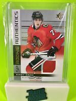 Kirby Dach Rookie Card 📈🔥 RC Jersey Relic 2019-2020 Upper Deck SP Blackhawks