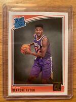 DEANDRE AYTON 2018-19 Donruss Rated Rookie #157 Phoenix Suns RC