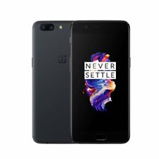 "OnePlus 5 Dual Sim 64GB Grigio Slate Gray 5.5"" 6GB RAM 4G LTE Unlocked One Plus"