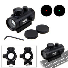 Tactical Holographic Red+Green Dot Sight Scope Illuminated Reflex 5 MOA Mount FF