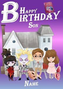 Personalised Beetlejuice Inspired Birthday Card (Son/Daughter/Grandson/Dad/Mum)