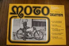 MOTO CYCLETTISTE  Revue moto anciennes MOTOCYCLETTISTE n° 31 Février 1984