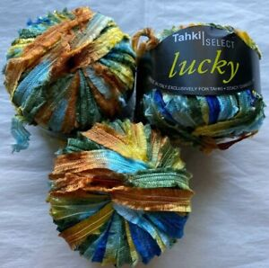 Stacy Charles Tahki Select Lucky 50 Meters Tropical Shaded Yarn Made in Italy