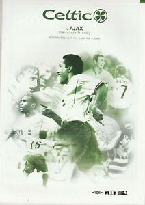 Glasgow Celtic v Ajax   2002-03