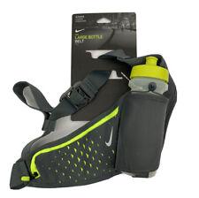 New Nike 22oz Large Bottle Running Belt Pocket Green/Gray Workout 5k Hiking