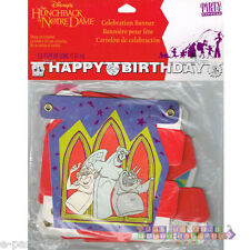 HUNCHBACK OF NOTRE DAME HAPPY BIRTHDAY BANNER ~ Party Supplies Decorations Paper
