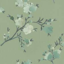 grün-braun Blumen Vlies Tapete AS 1110-36 NEU