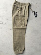 2 work pants WXX cuff 7 pockets cargo elastic waist mens AU sizes AU quick stock