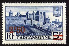 FRANCE LA CITADELLE DE CARCASSONE  TIMBRE NEUF N° 490 **  MNH 1941   B4