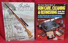 2 Book Lot-The Gun Digest Book of Gun Care, Cleaning/Gun Stocks by Bishop