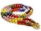 24  Necklace Naga Eye 9 Color Thai Amulet Luck Crystal Charm Talisman Pendant