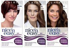 NICE n EASY Demi Permanent Hair Colours NO AMONIA 93 95 or 815RR choose qty col