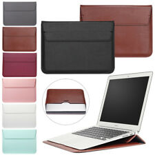 For Microsoft Surface Book 2 / Pro 2 3 4 Laptop Leather Sleeve Pouch Bag Case WQ