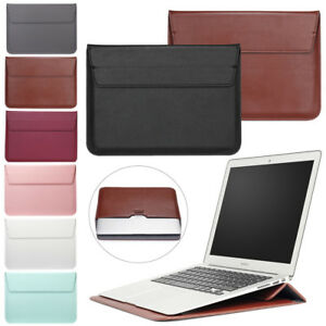 For Microsoft Surface Book 2 / Pro 2 3 4 Laptop Leather Sleeve Pouch Bag Case YA