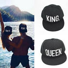 Adjustable Letter King And Queen Hat Baseball Cap Hats Hip-Hop Lovers Snapback