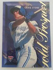 1995 Futera ABL Baseball Gold Prospect Insert Card GP1 Craig Stone.
