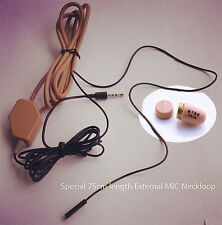 Covert spy earpiece Auricular espía inalámbricos con NeckLoop наушники écouteur