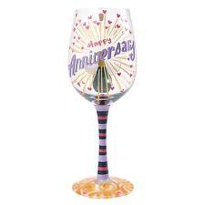 Lolita 4054093 Happy Anniversary Wine Glass