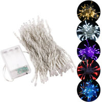 1-20M Battery Operated LED String Fairy Lights Xmas Tree Wedding Party Dec Lamp