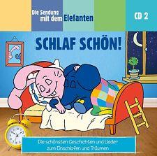CD * DIE SENDUNG MIT DEM ELEFANTEN CD 2 - SCHLAF SCHÖN ! # NEU OVP §
