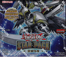 Yu-Gi-Oh Star Pack 2014 sealed booster box 50 packs of 3 cards