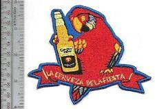 Beer Corona Extra Cervecería Modelo in Mexico La Cerveza de la Fiesta Promo Slog