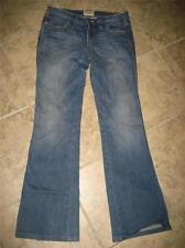 Women's FRANKIE B. bootcut jeans w/ PINK FLOWERS...size 6