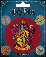 Vinyl Sticker / Aufkleber-Set HARRY POTTER - Gryffindor 1x7,5cm 4x2cm PS7388 NEU