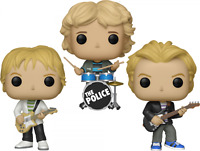 The Police Set of 3 Funko Pop Vinyls New in Boxes