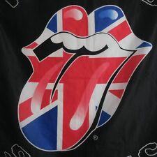 Poster foulard drapeau ROLLING STONES 2007 USA vintage pop art musique N5770