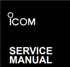 ICOM RADIO SERVICE MANUALS - 330 MODELS SUPPLIED ON A DVD