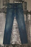 HUGO BOSS Herren Jeans W33 L34 Modell SCOUT1, Slim straight Stretch, Authentisch
