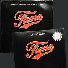"Rare set! Irene Cara Michael Gore FAME soundtrack LP +12"" single 80 Paul McCrane"
