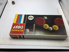 Original Vintage SEALED LEGO BUILDING SET #1 - GEARS - Samsonite UNUSED UNOPENED
