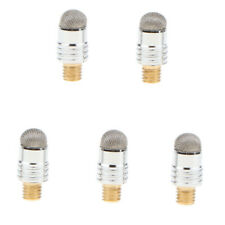 5 pieces 2 in 1 replacement fiber tips for capacitive stylus pens diameter