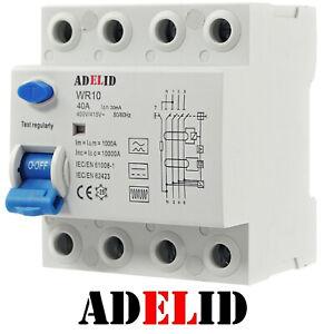 Wallbox Fehlerstromschutzschalter FI Typ B E-Auto 40A 30mA Allstromsensitiv RCD