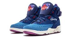 EWING 33 HI LIMITED ED ALL-STAR TRAINERS, UK9.5, BLUE/PURPLE/WHITE, 1EW90166-463