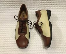 53db541b08b MEPHISTO Air Relax Two-tone Lace-up Leather Shoes Oxfords Loafers 6.5