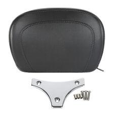 Sissy Bar Backrest Pad Bracket For Harley Touring Road King Electra Glide 97-18