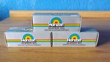 3 x Coffret Horizon Super XG 110 films (délai expiré en 2002