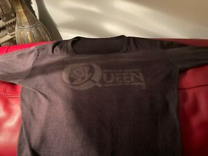Vintage Authentic Shirt Queen News Of The World 1977 American Tour Concert Band