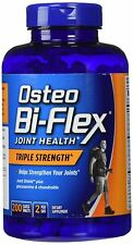 New Osteo Bi-Flex Glucosamine Chondroitin MSM Triple Strength 200 Coated Caplets