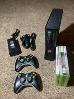 Microsoft Xbox 360 S 4GB Console Tested & Working - No Hard Drive