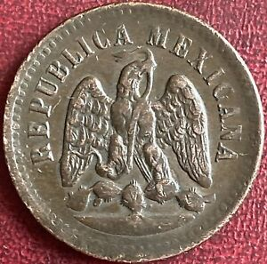 Mexico - One Centavo Coin - 1890 (GY9)