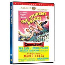 THE STUDENT PRINCE. Mario Lanza musical. Region free. New sealed DVD.