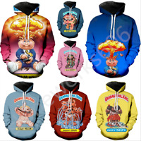 Garbage Pail Kids 3D Print Hoodies Men Women Casual Pullovers Sweatshirts Tops