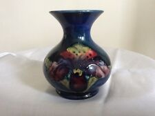 MOORCROFT  VASE SLIPPER ORCHID SUPERB HAND PAINTED 1940's - 1950'S